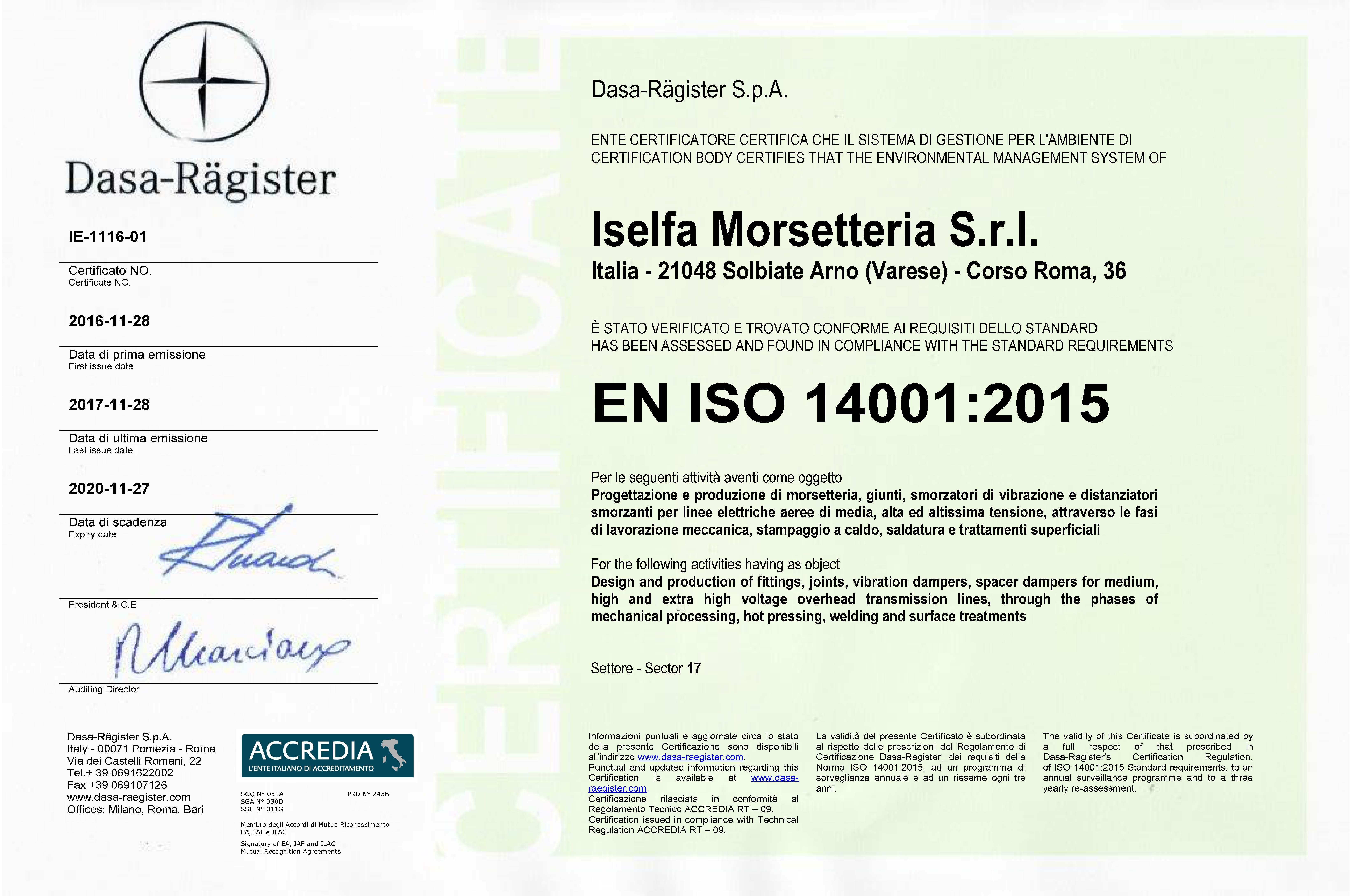 certificato_ISO_14001_2015
